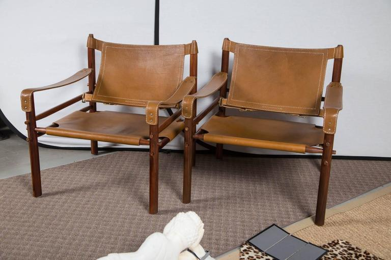Pair Of Sirocco Safari Chairs For Sale At 1stdibs