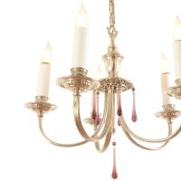 Silver Plated Colonial Revival Chandelier, circa 1925 at ...