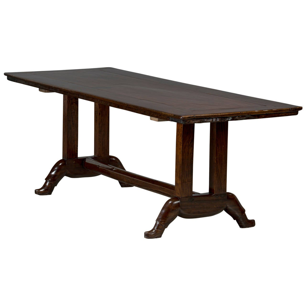Long Dining Table For Sale Long Table With Quotshoe Base Quot For Sale At 1stdibs