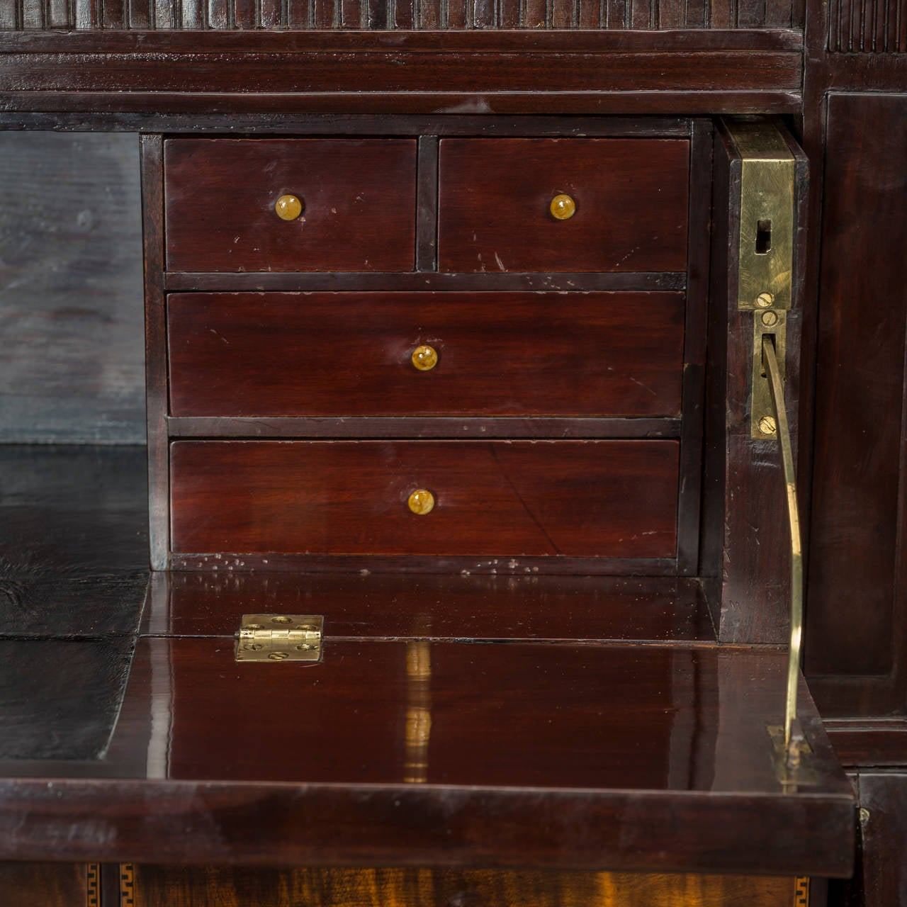 Danish Furniture St Louis Architectural Louis Xvi Bureau Denmark Circa 1780 For