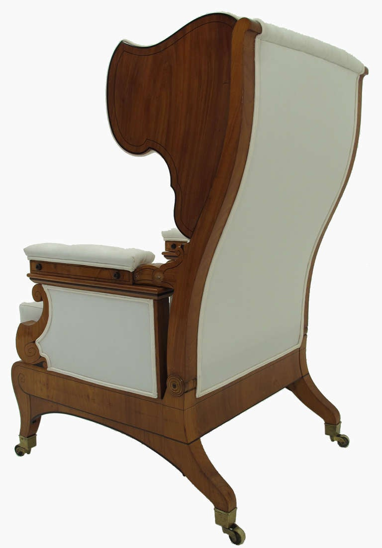 Biedermeier Sessel Exquisiter Donaumonarchie Biedermeier Sessel