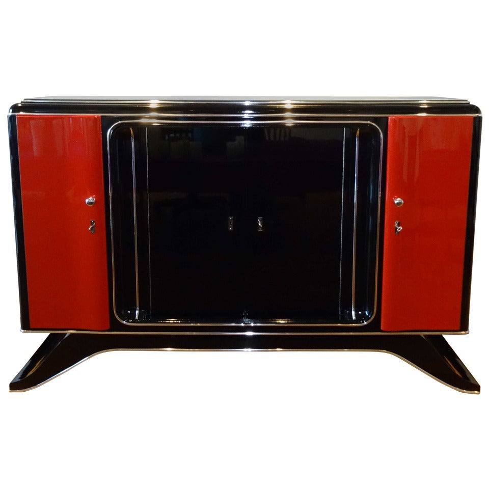 Highboard Tv 1920s Art Deco Highboard
