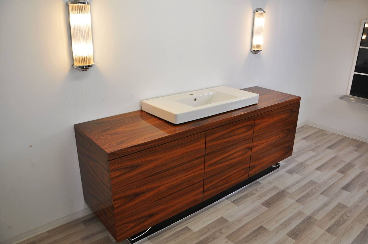 Art Deco Bathroom Extra Large Art Deco Bathroom Furniture Made Of Jacaranda