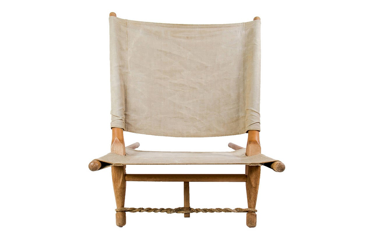 Well Preserved Ole Gjerlov Knudsen Lounge Chair Saw