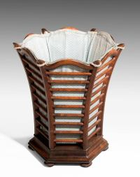Late 19th Century Mahogany Waste Paper Basket For Sale at ...