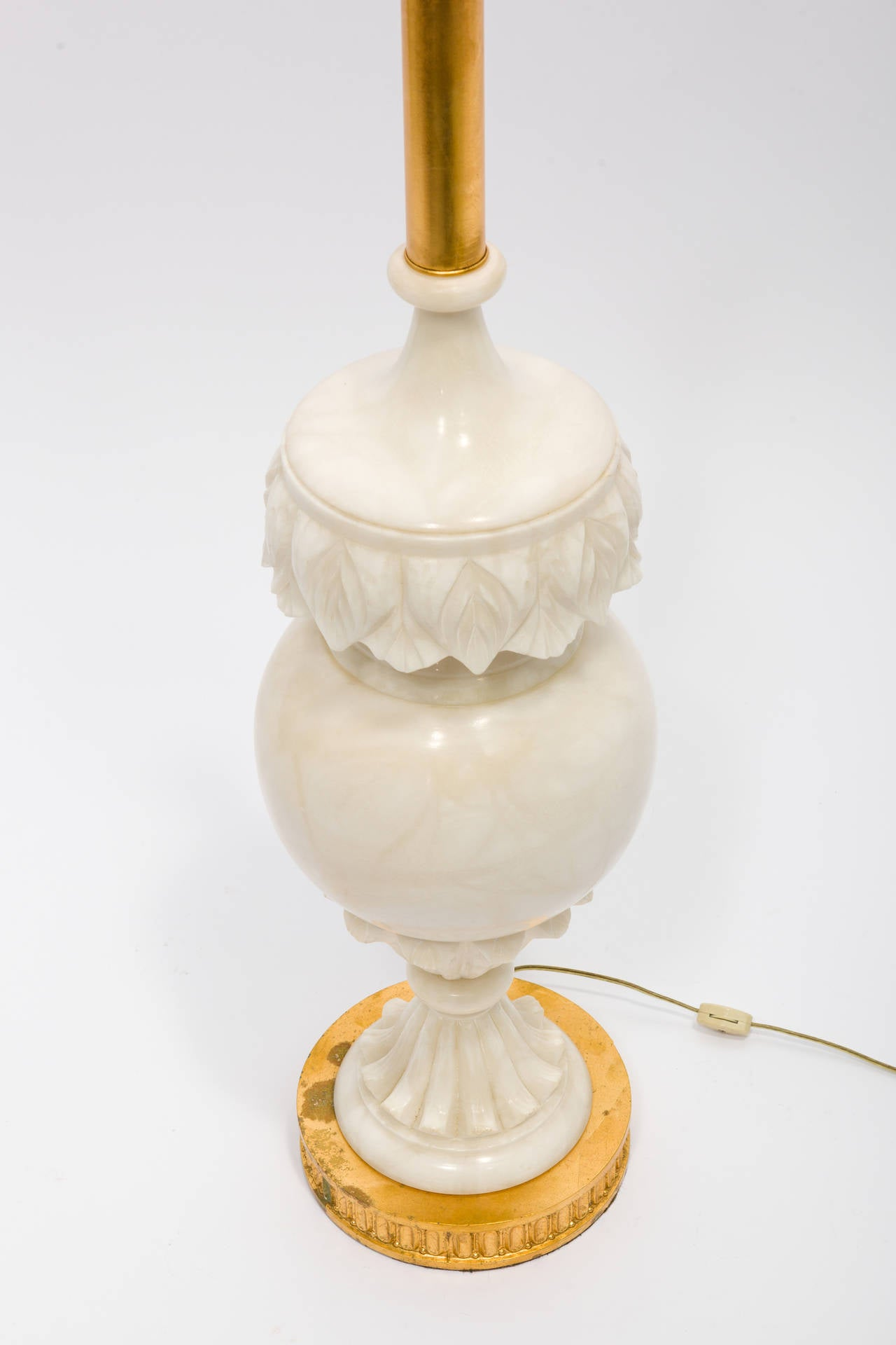 Large Lamps For Sale Large Carved Marble Lamp For Sale At 1stdibs
