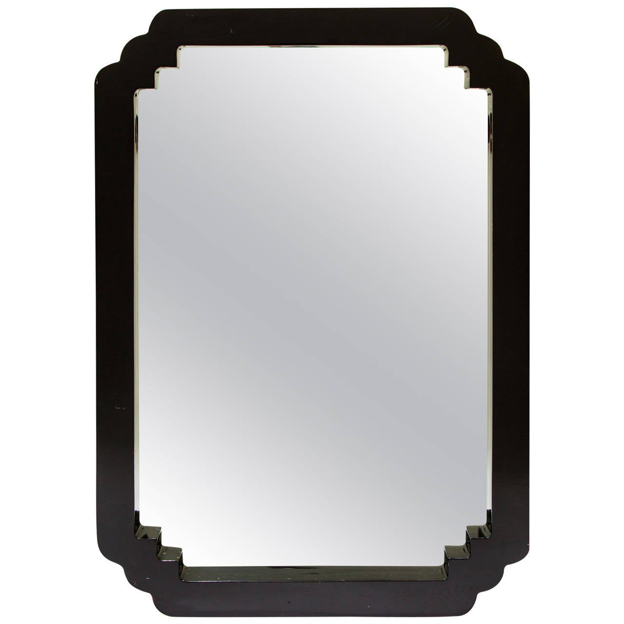 Asian Style Wall Mirrors Asian Style Lacquered Wood Wall Mirror At 1stdibs