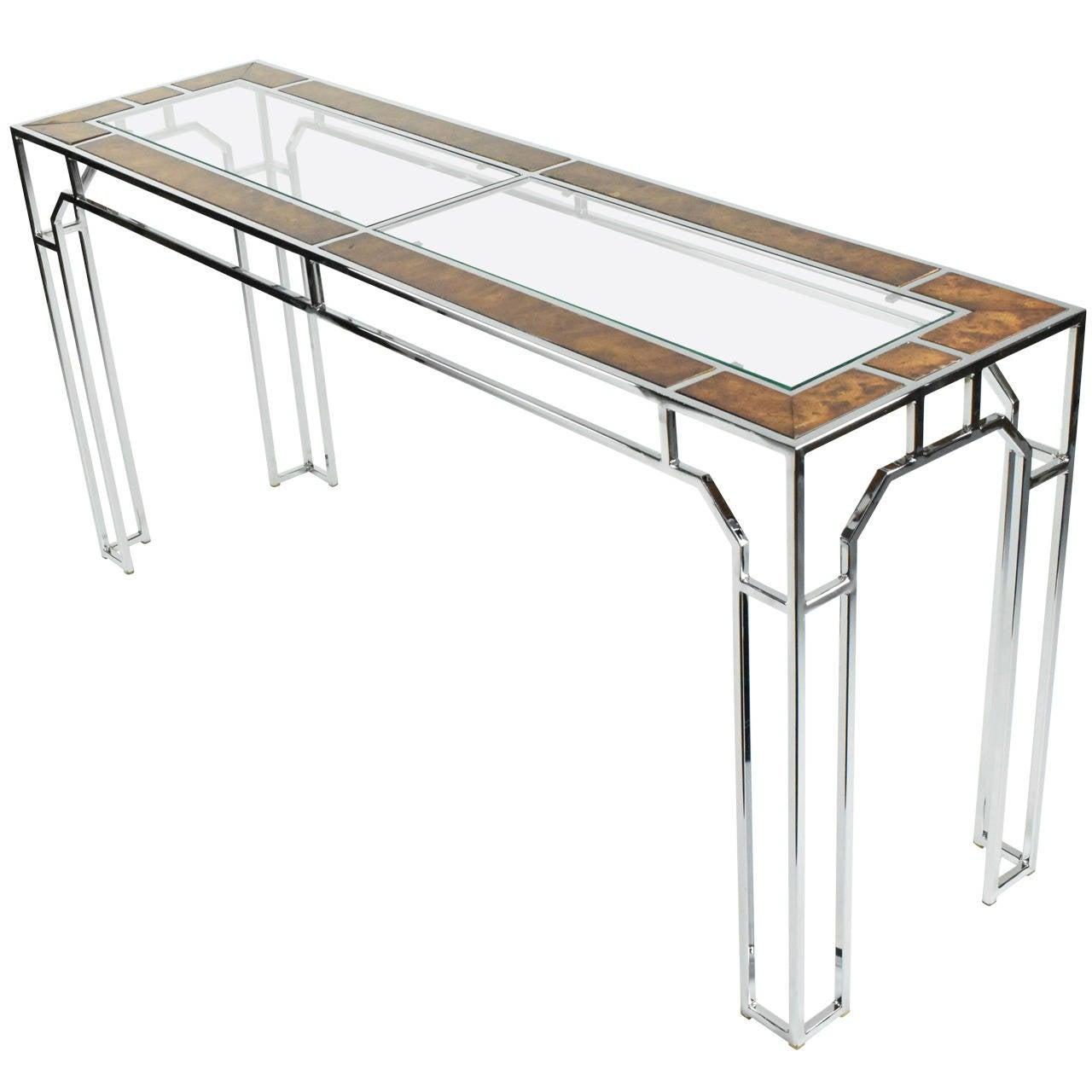 Beautiful Milo Baughman Console Table For Thayer Coggin At