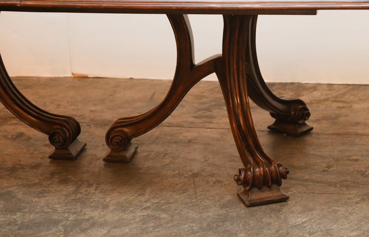 Therien Quotvolutequot Dining Table At 1stdibs