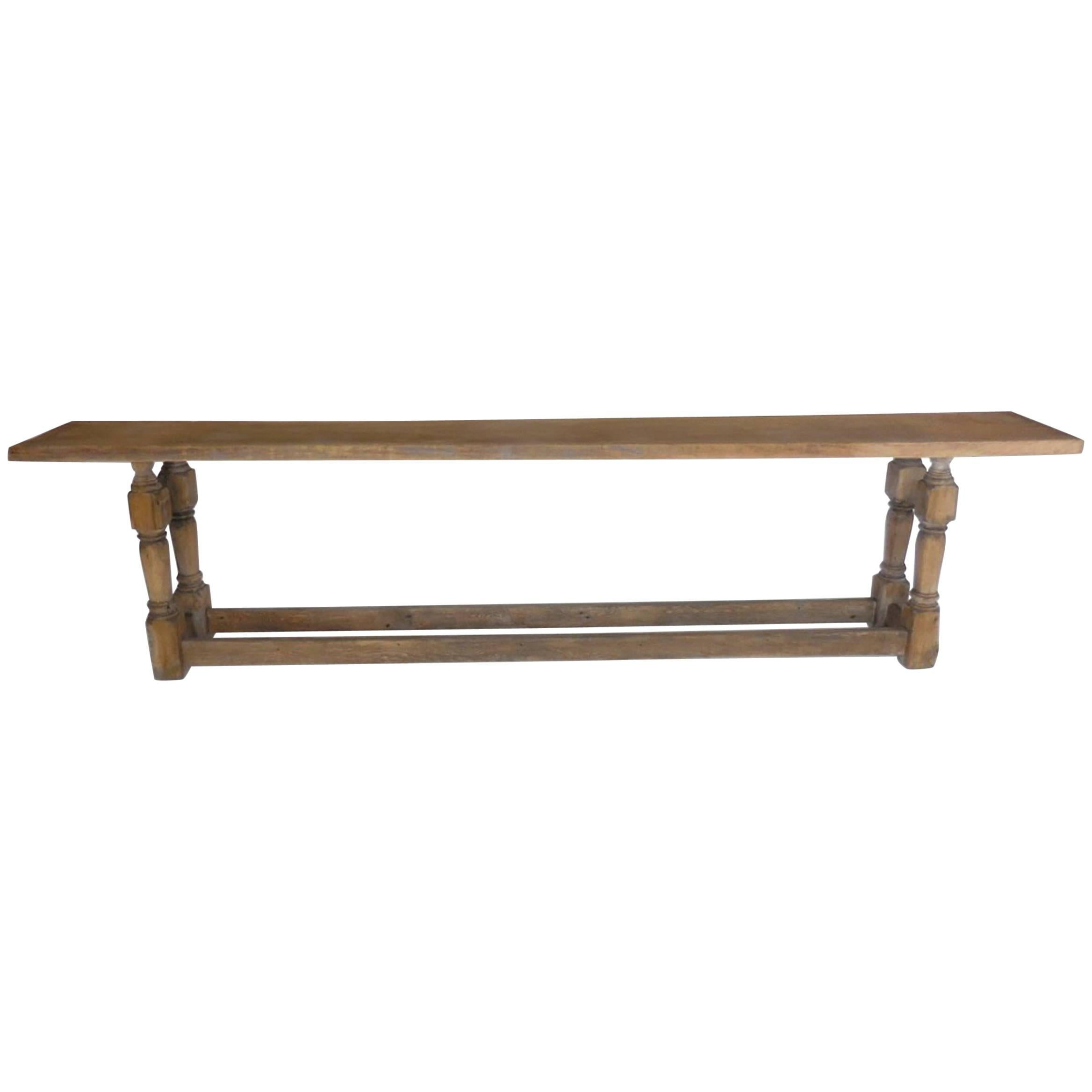 Console Table But Large Scale But Narrow Console