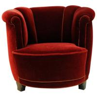 1930s Monterey Period Del Rey Chair at 1stdibs
