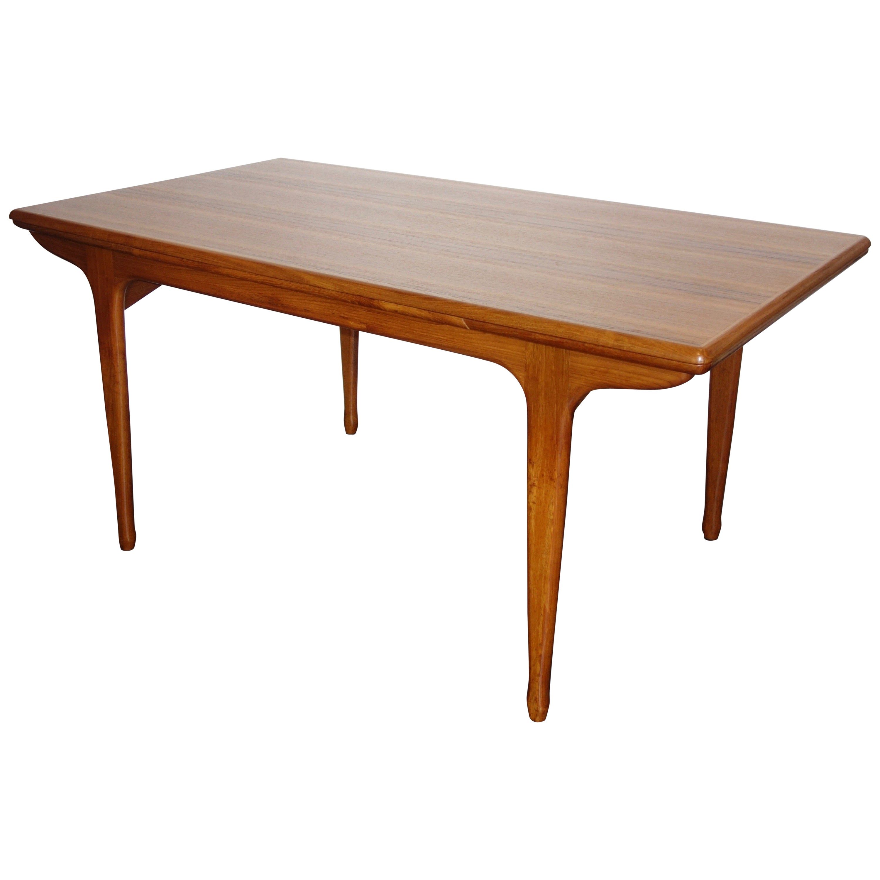 Meubles Basic Line France French Expendable Dining Table By Meubles Tv Tricoire Vecchione 1960s