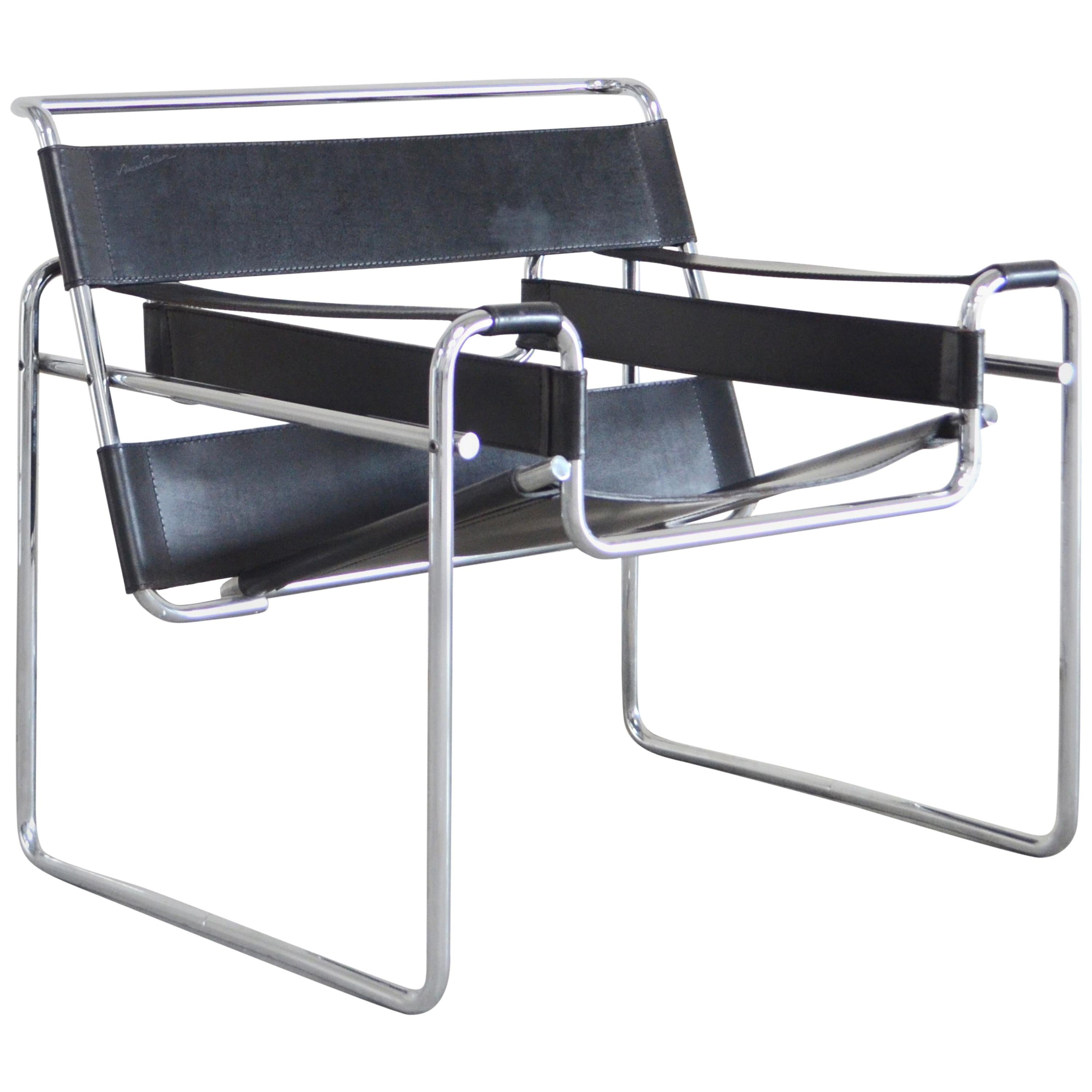 Wassily Chair Knoll International Wassily Chair By Marcel Breuer