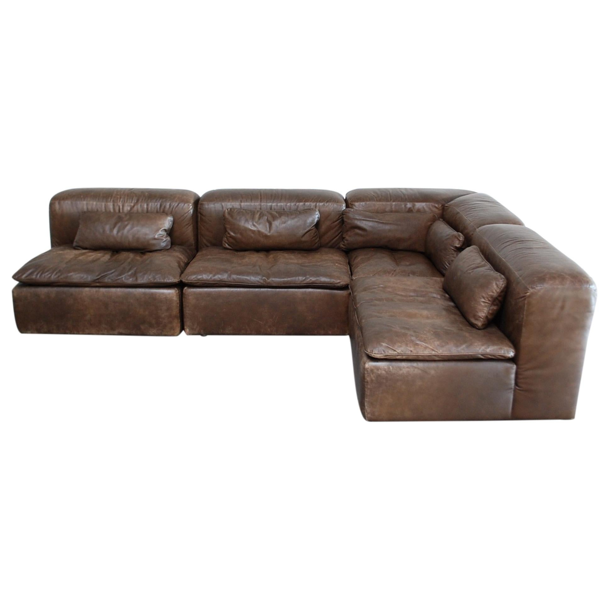 Naturmöbel Sofa Wk Möbel Model Wk 550 Vintage Leather Sofa Brown By Ernst Martin Dettinger
