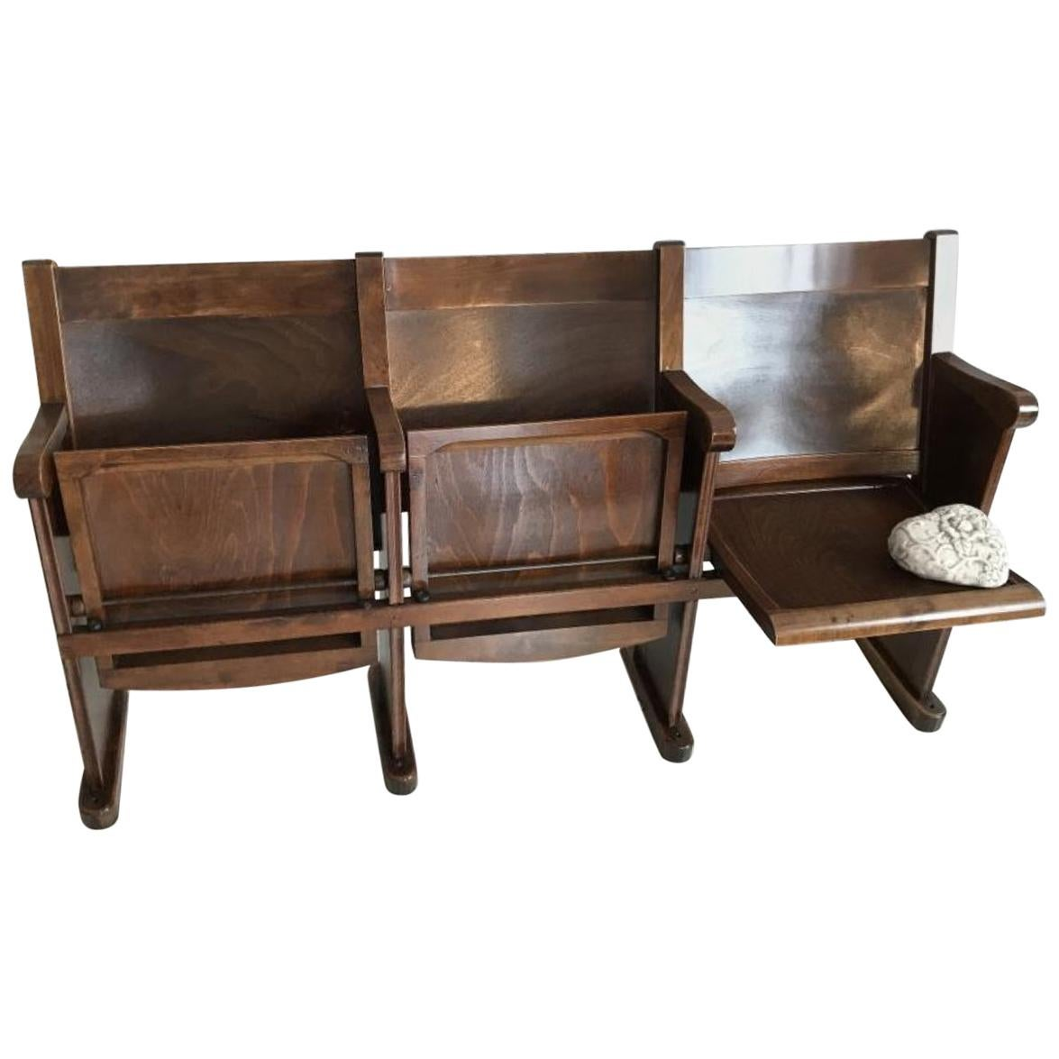 Sofa Jequitiba Nova America Rosenthal Studio Line Designer Leather Chair Black One Seat Wood Vintage