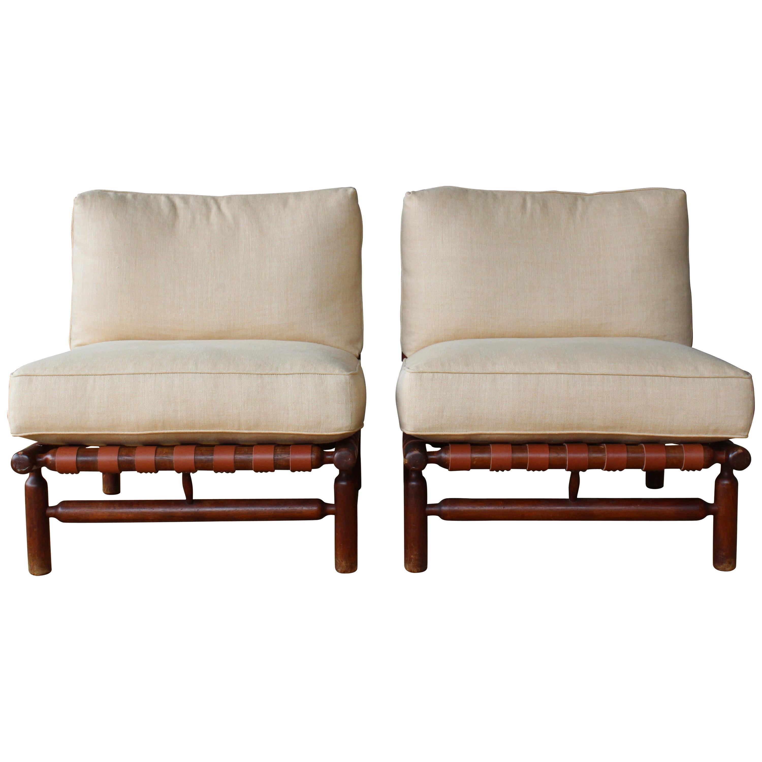 Chaise Tapiovaara Pair Of Ilmari Tapiovaara Lounge Chairs Italy 1957