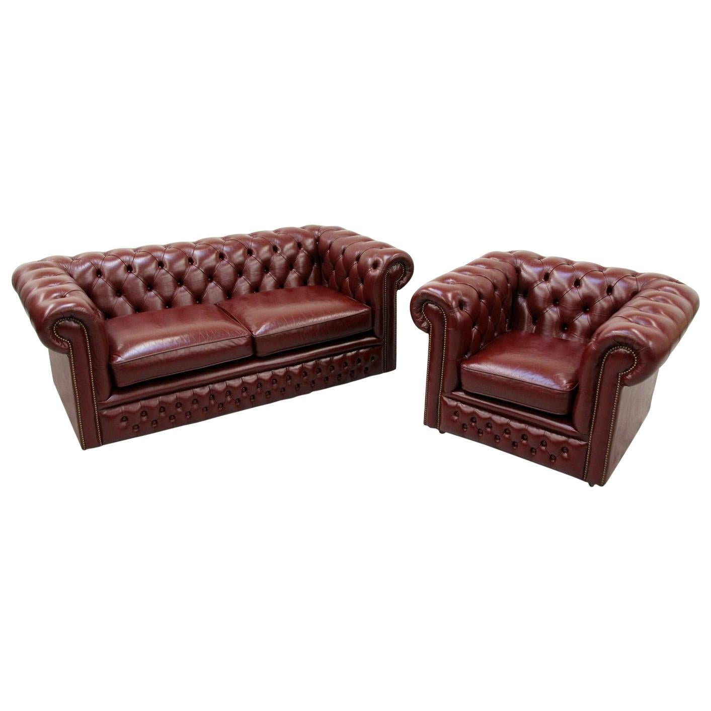 Chesterfield Sofa Online Uk Chesterfield Sofa Armchair Set Wing Chair Couch Antique Chair