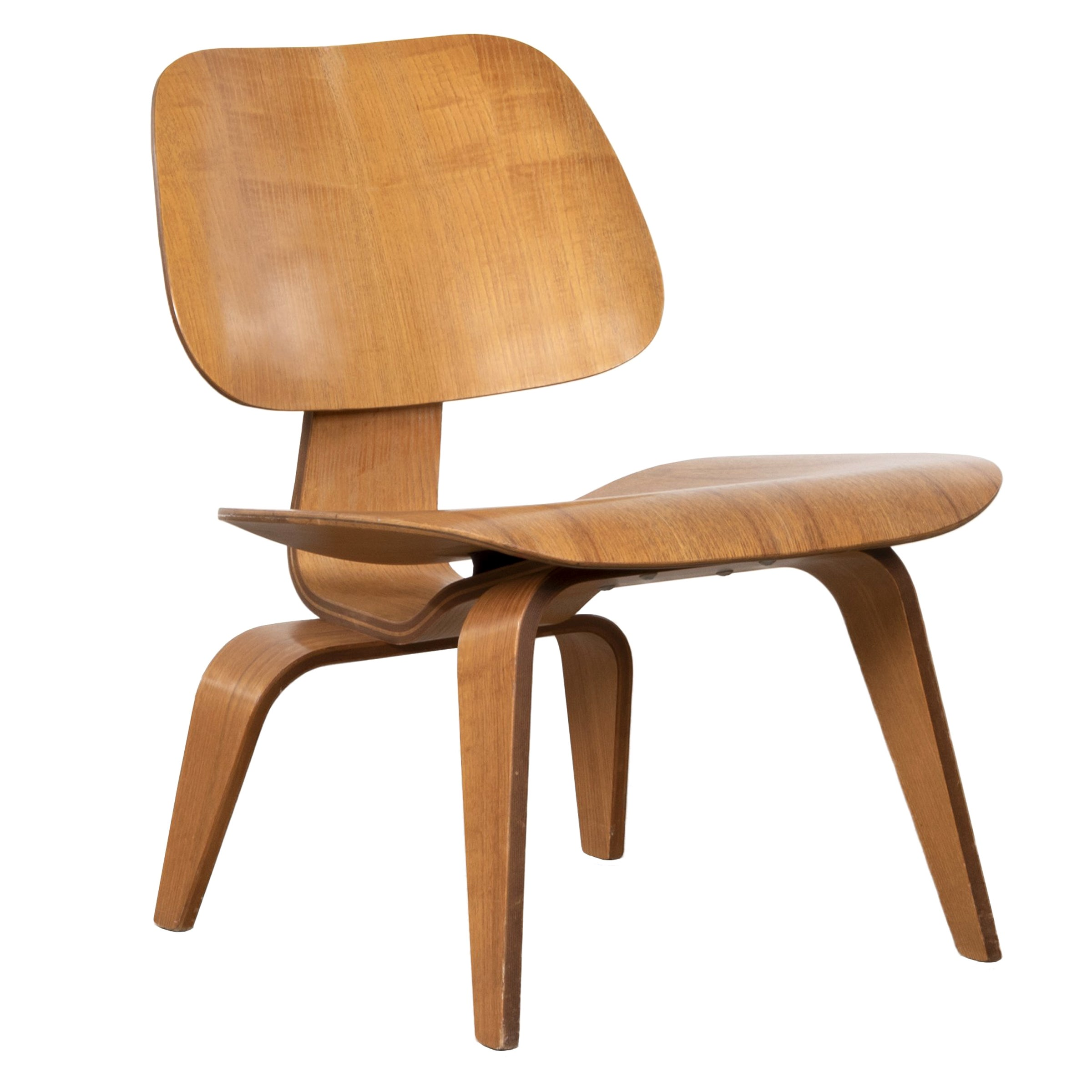 Charles And Ray Eames Lcw Ash Lounge Chair For Herman Miller 1951
