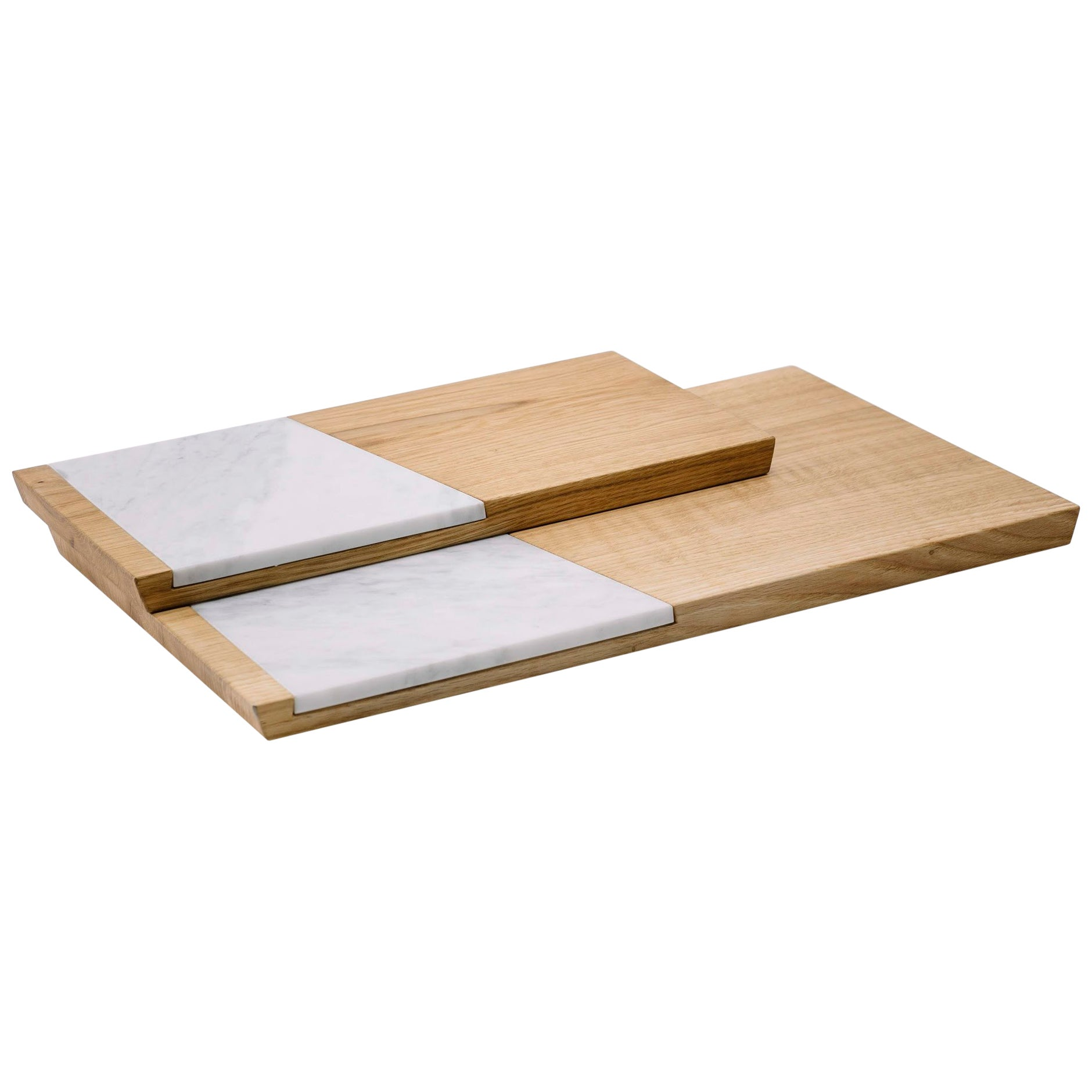 Small Marble Cutting Board Pietre Di Monitillo Rondine Small Marble And Oak Tray