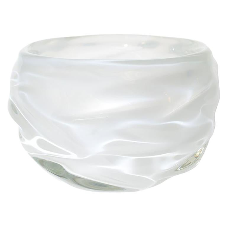 Decorative Glass Bowls Decorative Glass Bowl Alabaster Happy Bowl By Siemon Salazar In Stock