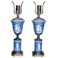 Wedgwood Table Lamps For Sale at 1stdibs