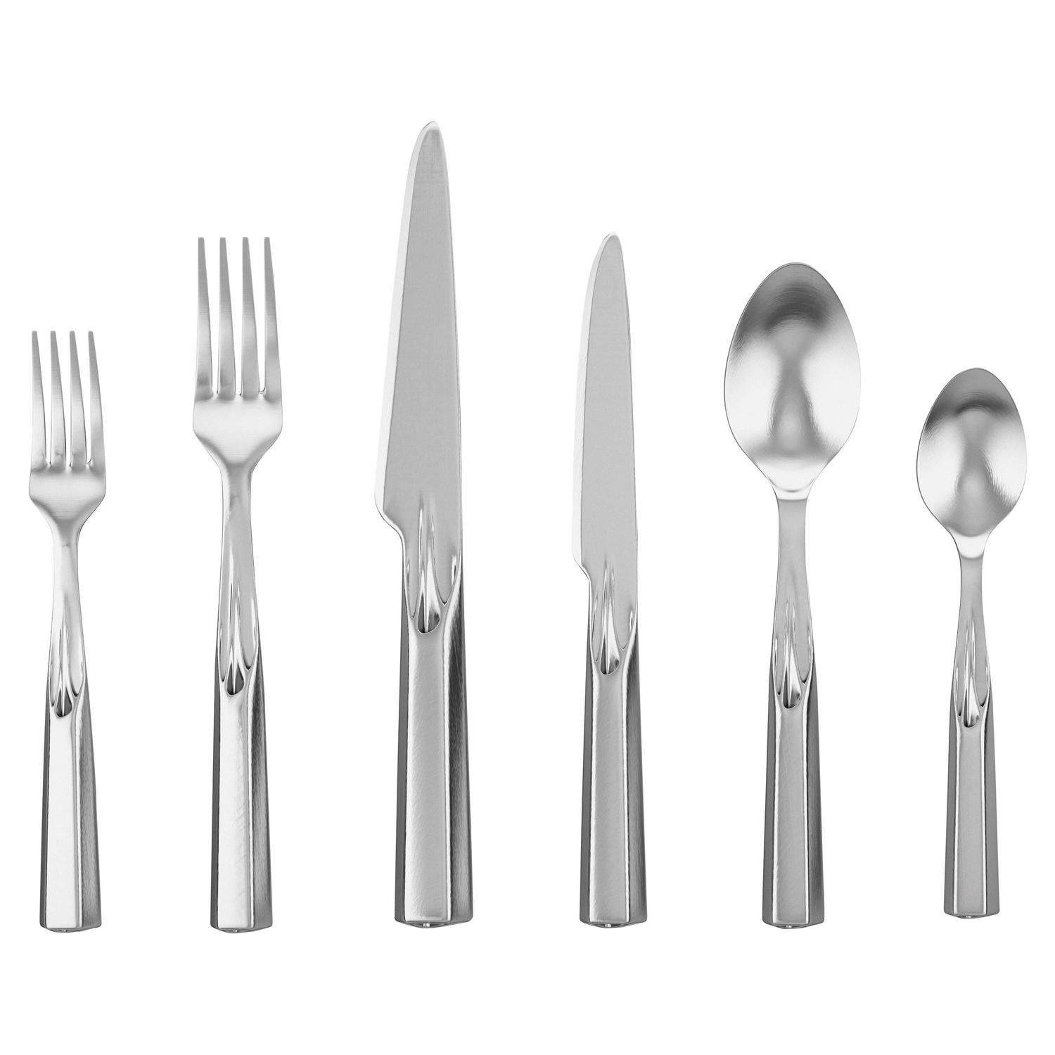High End Stainless Steel Flatware 3d Printed Stainless Steel Ice Breaker Flatware For Sale