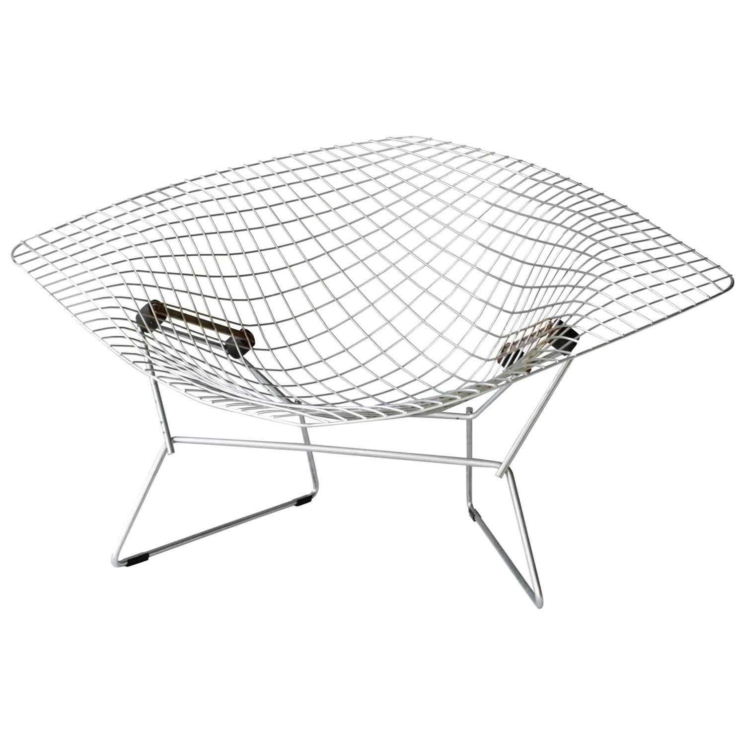 Diamond Sessel Large Diamond Chair By Harry Bertoia For Knoll