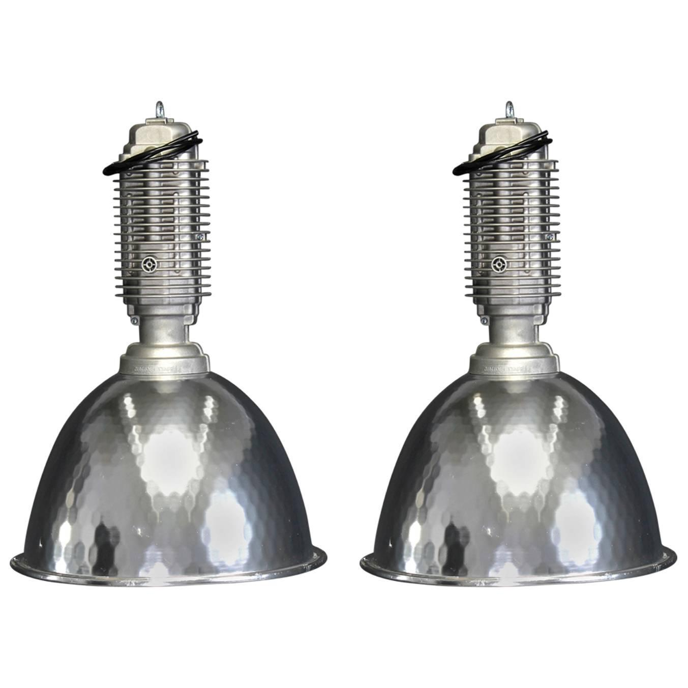 Industrial Lamps For Sale Large Vintage Industrial Pendant Lamps Or Ceiling Lamps
