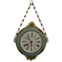 French Toleware Wall Clock at 1stdibs