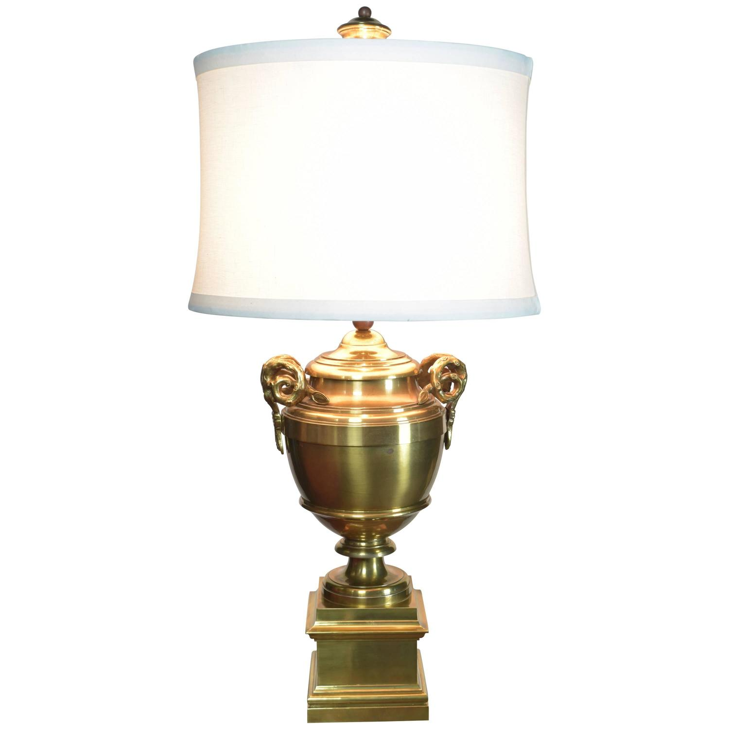 Vintage Brass Chapman Lamp For Sale at 1stdibs