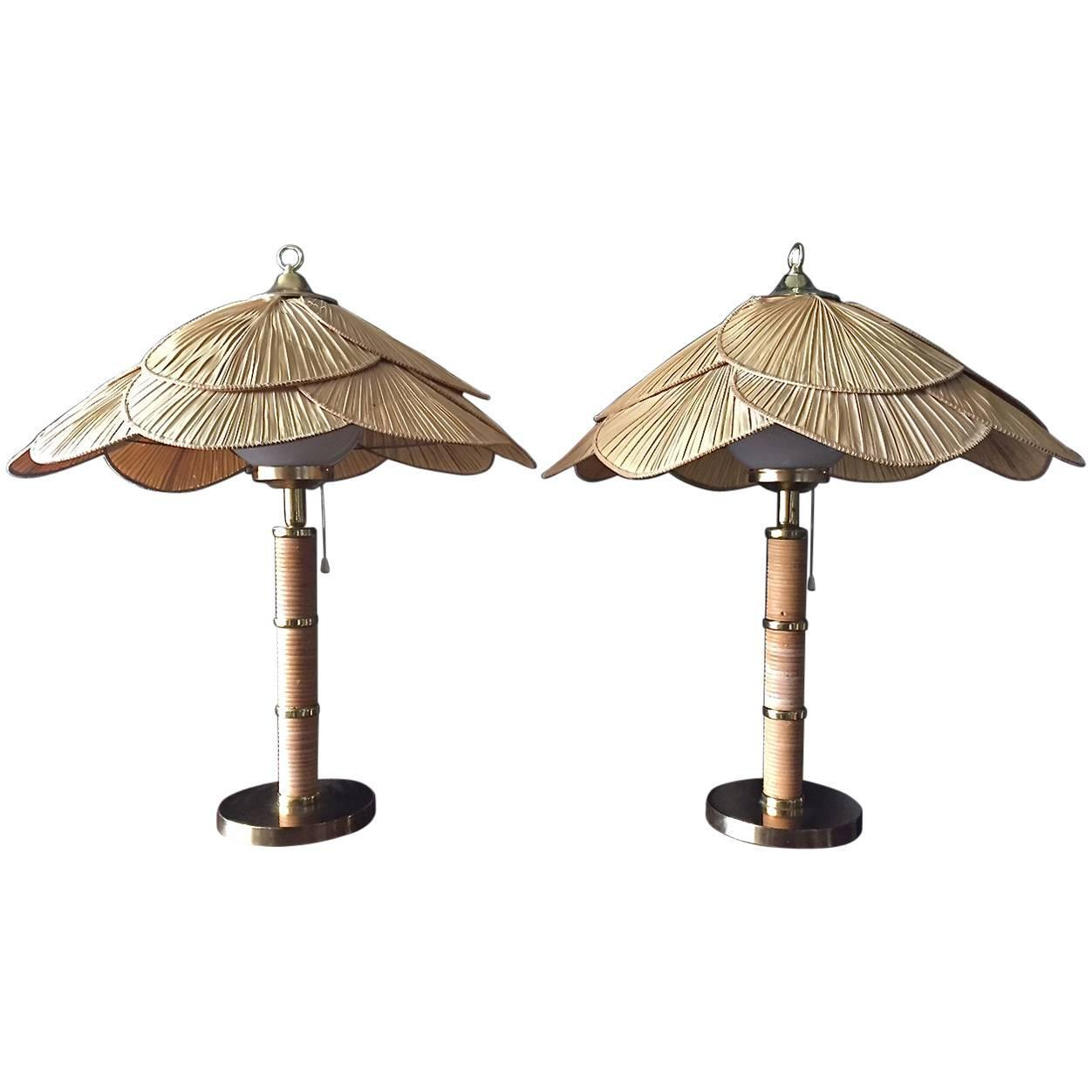 Large Lamps For Sale Pair Of Large Scandinavian Table Lamps For Sale At 1stdibs