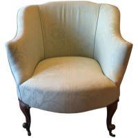 Antique Edwardian Tub Chair Armchair Early 20th Century ...