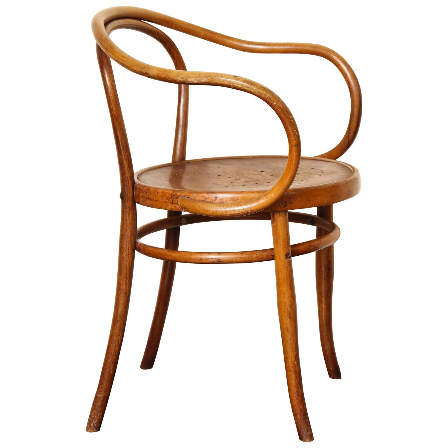 Thonet Michael Bentwood B 9 Chair By Michael Thonet Manufactured By Jacob Josef Kohn
