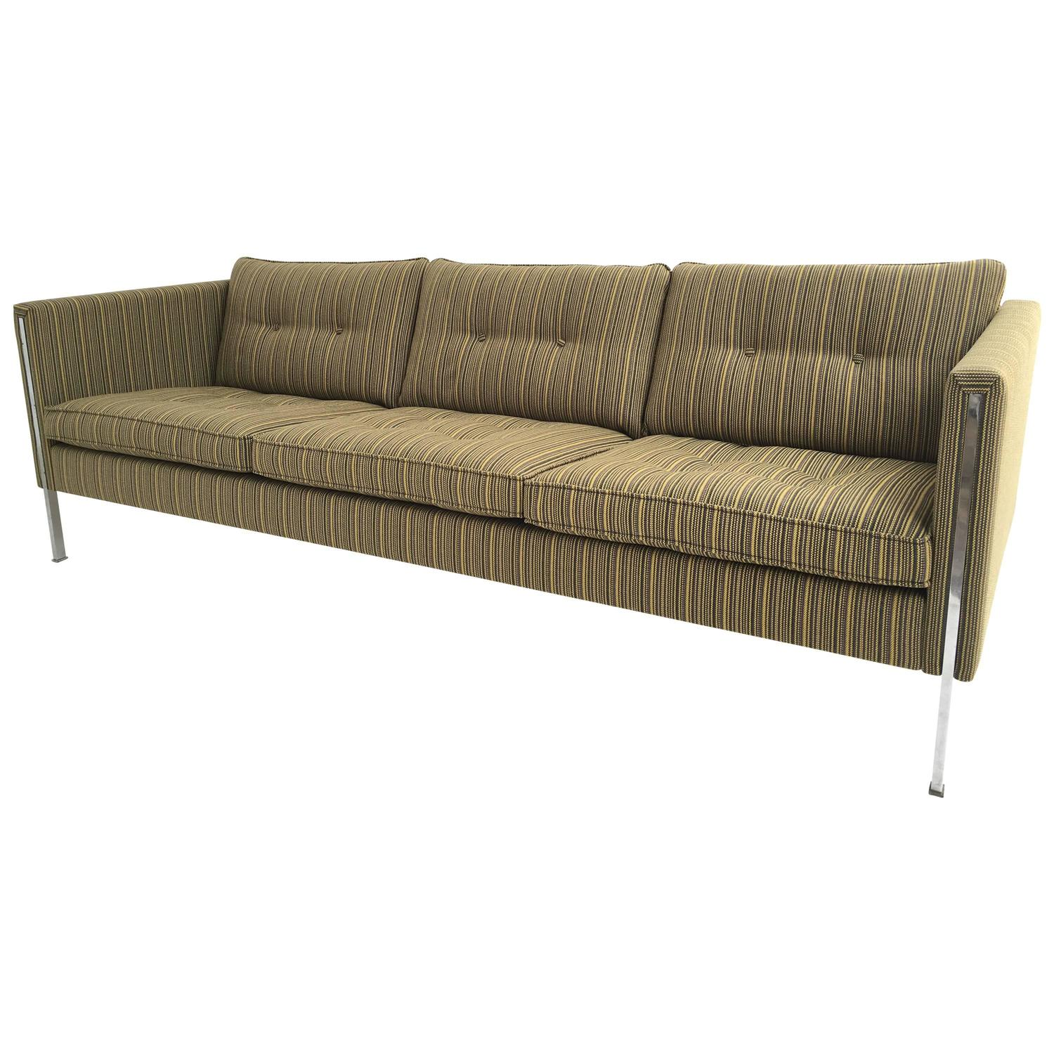 Pierre Paulin Sofa Pierre Paulin 442 3 Sofa For Artifort 1962 In Sophisticated De Ploeg Upholstery