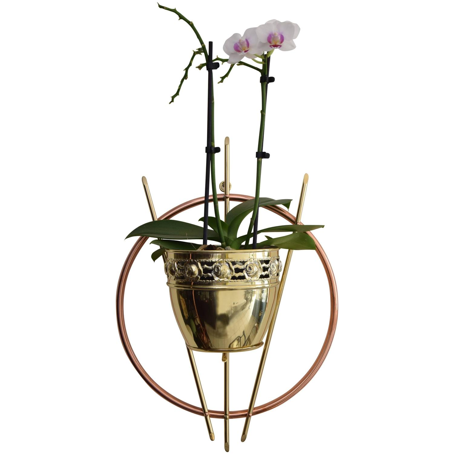 Wall Mounted Plant Holders Wall Mounted Plant Holder For Sale At 1stdibs