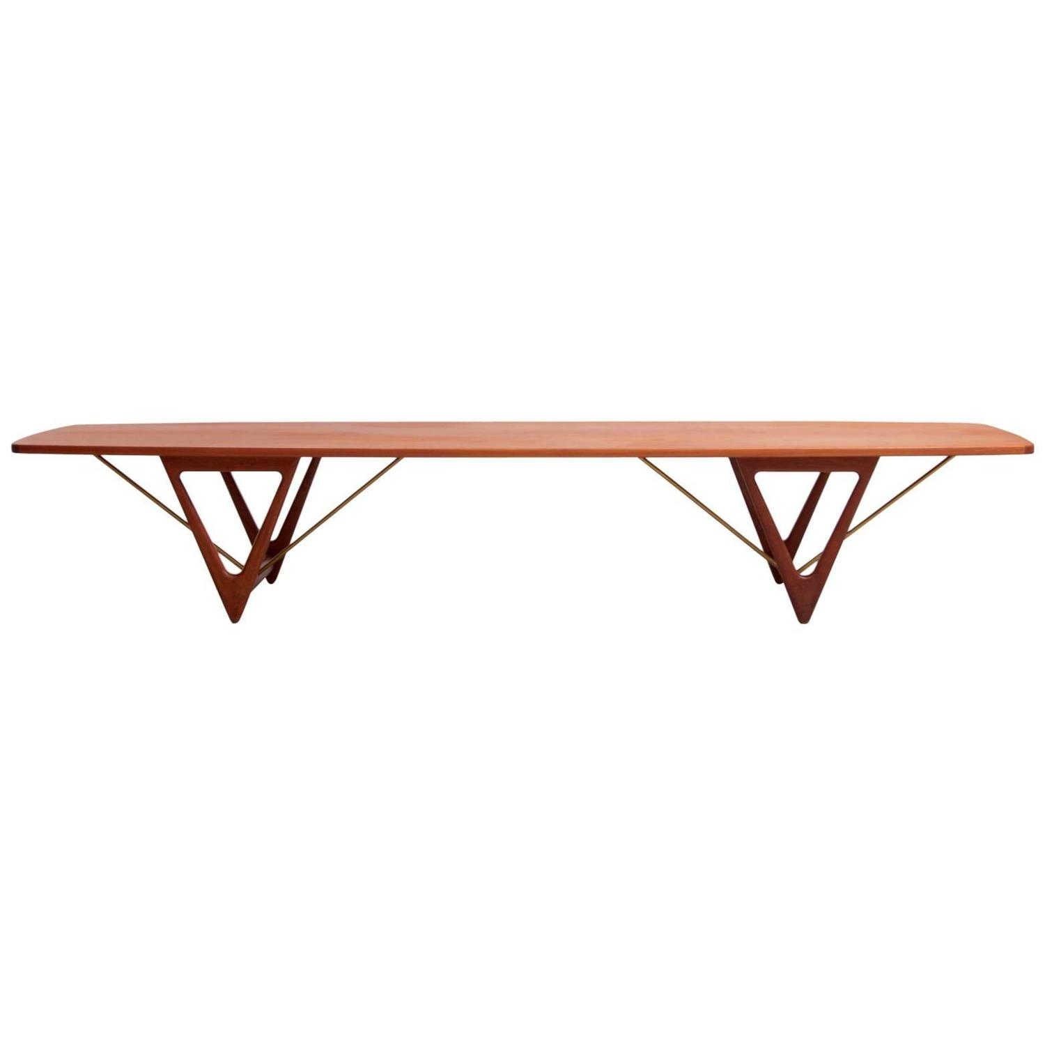 Surfboard Tables For Sale Extra Large Kurt Ostervig Surfboard Coffee Table For Sale