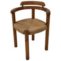 Stylish Mid-Century Modern Corner Chair in the Style of ...