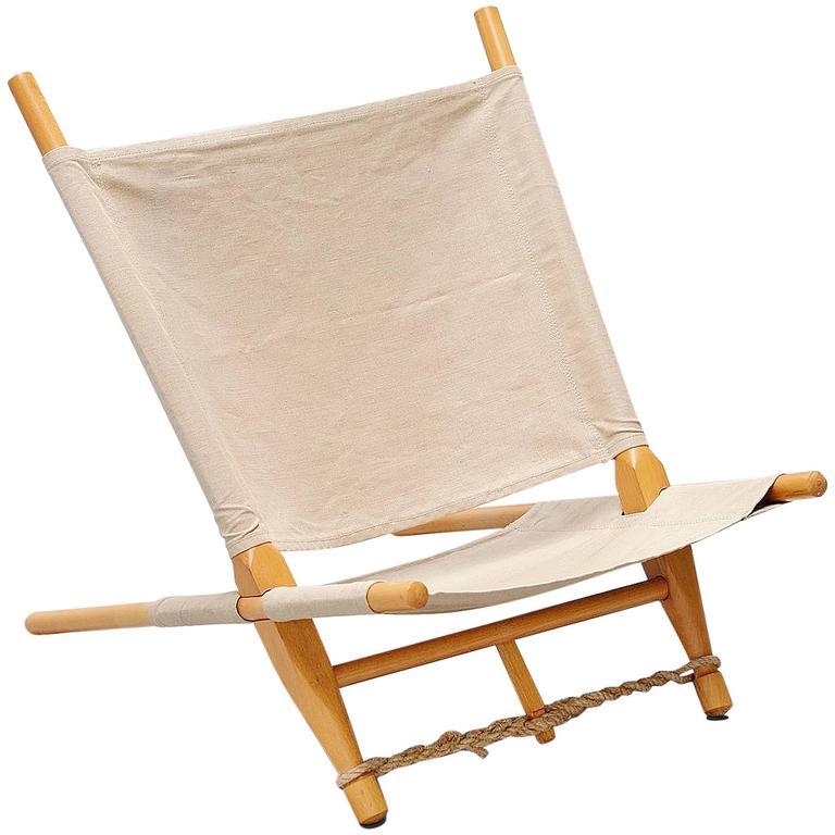 Ole Gjerlov Knudsen Saw Lounge Chair Cado Denmark 1958