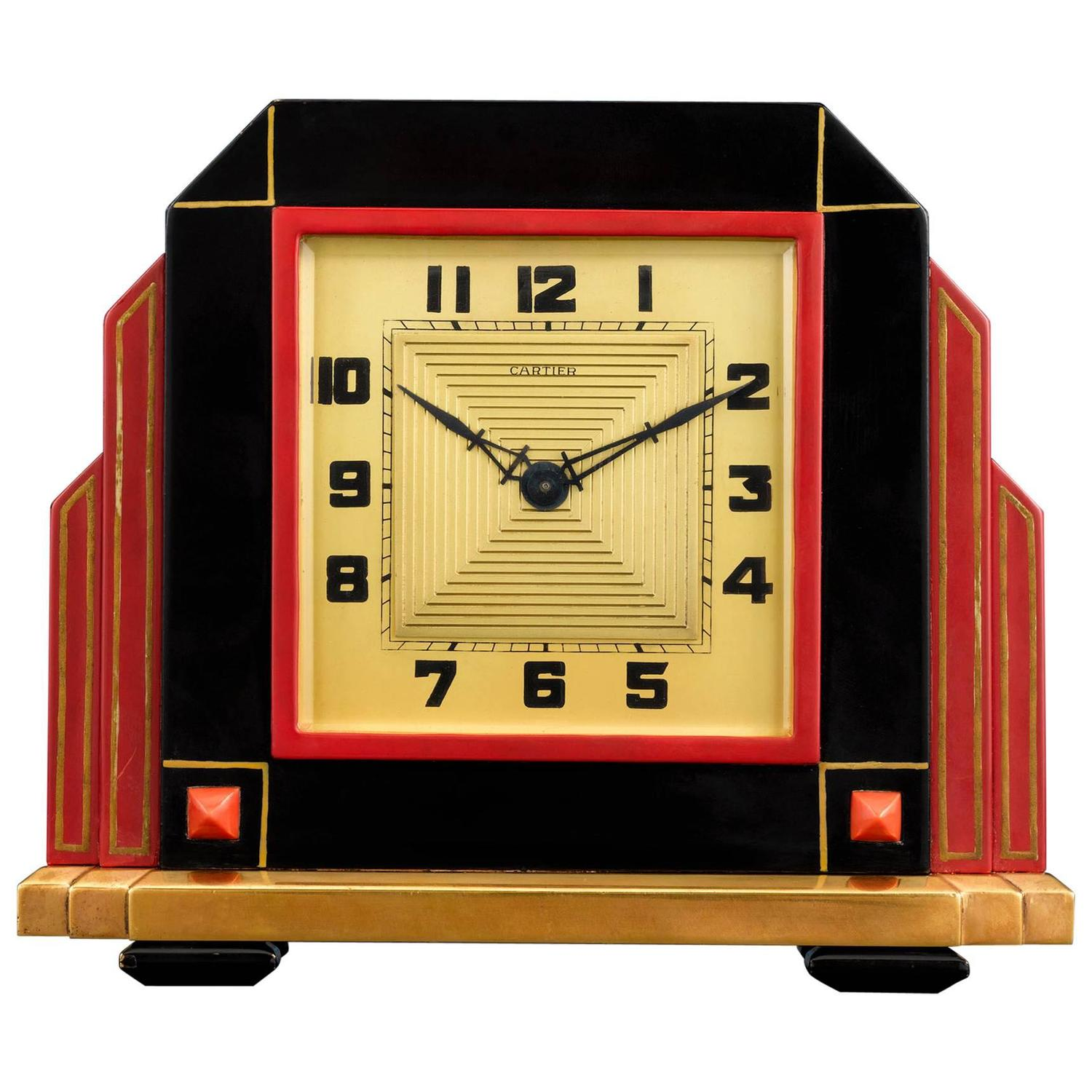 Fullsize Of Art Deco Clock