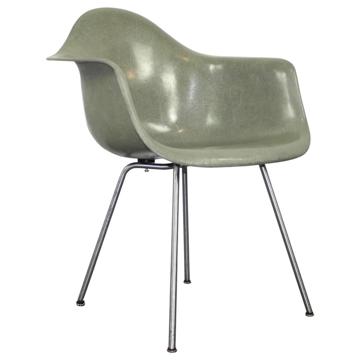 Eames Chair Base All Original Eames For Herman Miller Lax Chair In Seafoam Green
