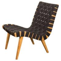 Jens Risom Lounge Chair for Knoll For Sale at 1stdibs