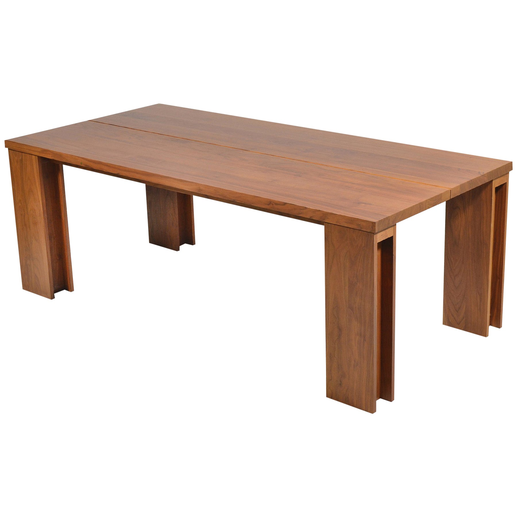 Long Wood Desk De La Espada