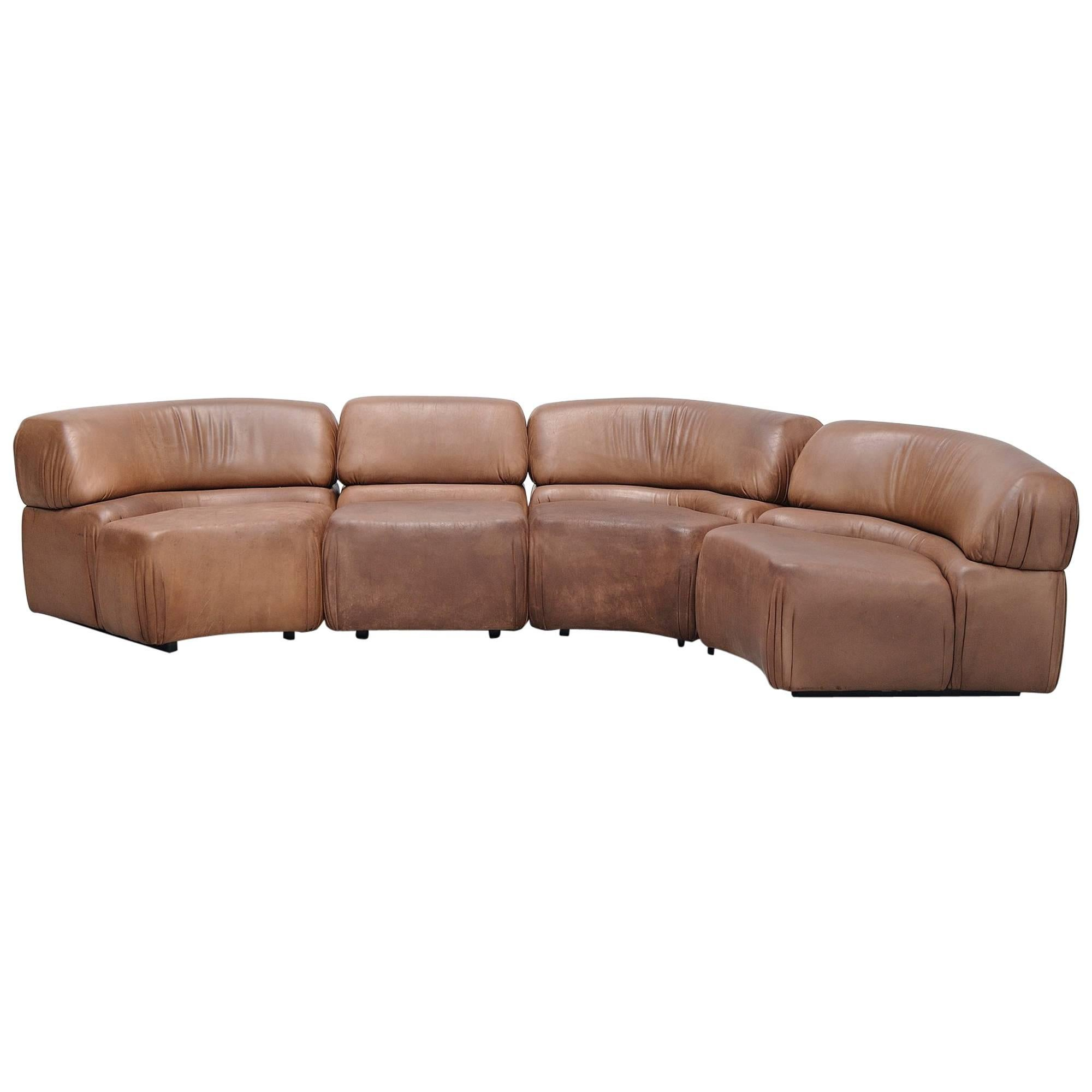 Retro Sofa Leather Retro Sofa Danish Design 1960 1970