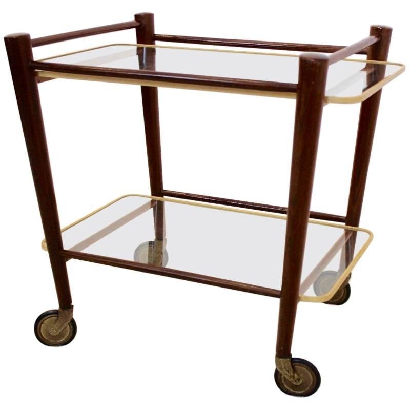 A Frame Trolley Elegant Serving Trolley By Cees Braakman For Pastoe Netherlands 1950s