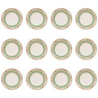 12 Antique Dinner Plates, Royal Doulton England, Nice ...