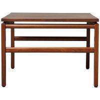 Mid-Century Modern Gunlocke Walnut Side Table, 1960s For ...