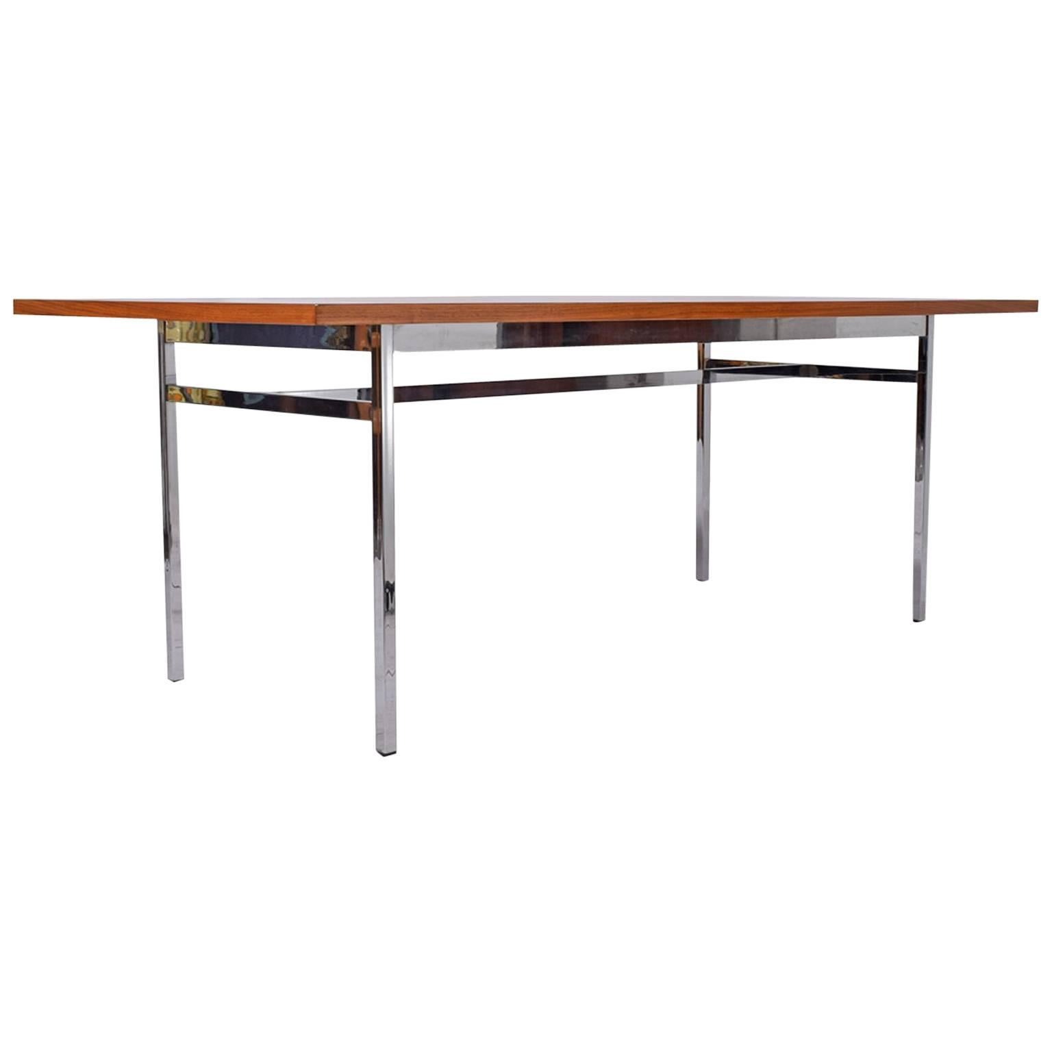Tables Knoll Executive Table By Florence Knoll For Knoll 1508