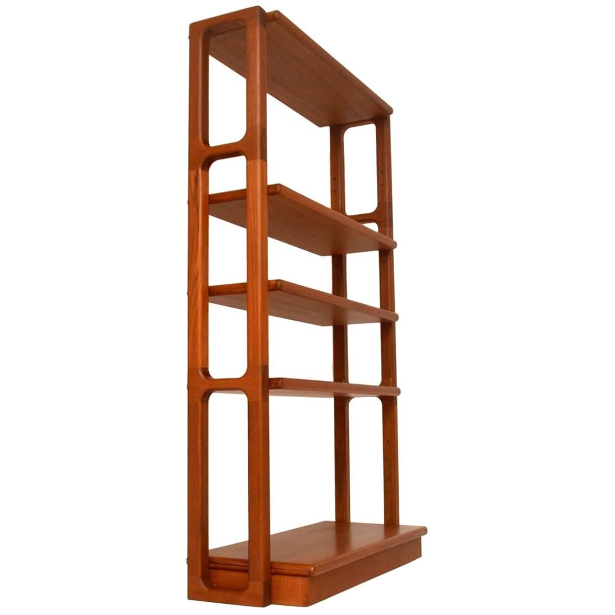 Vintage Bookcase 1960s Danish Teak Vintage Bookcase Or Room Divider