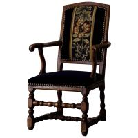 Swedish Baroque Chair in Original Paint at 1stdibs