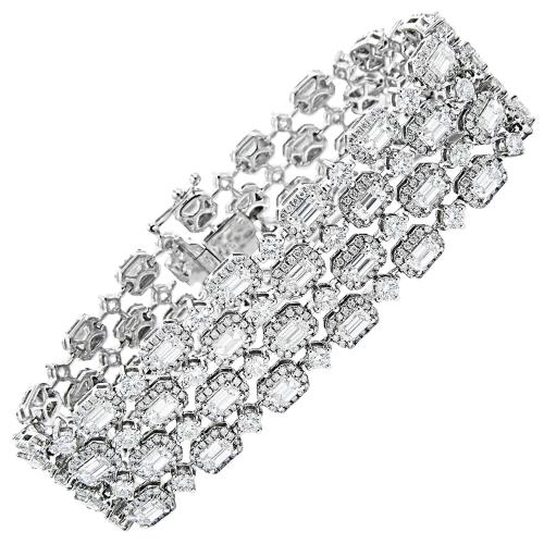 Medium Crop Of Diamond Tennis Bracelet